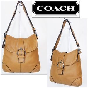 Coach Soho Maple Leather Convertible Crossbody Bag